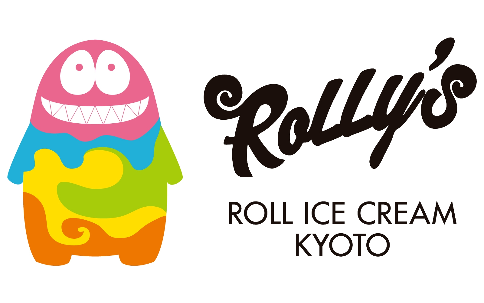 ROLLY'S ROLL ICE CREAM KYOTO